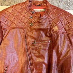 Emporio Armani Vintage biker jacket